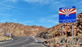 Muestra agradable de Arizona Fotos de archivo libres de regalías