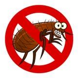 Muestra anti de la pulga