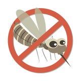 Muestra anti II del mosquito ilustración del vector