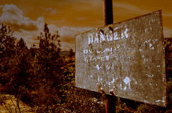 Muestra apocalíptica Foto de archivo libre de regalías