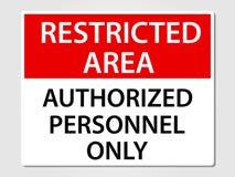 Muestra autorizada de los personales solamente en gris Fotografía de archivo