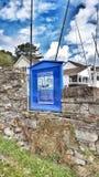 Muestra azul de Cornualles Imagen de archivo libre de regalías