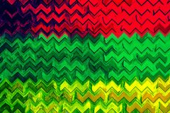Muestra colorida de la muestra del color del arte del fondo de la música del reggae Foto de archivo