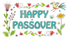 Muestra colorida de la pascua judía Foto de archivo libre de regalías