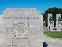 Muestra conmemorativa de la entrada de la Segunda Guerra Mundial fotos de archivo libres de regalías