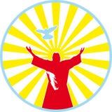 Muestra cristiana Foto de archivo libre de regalías