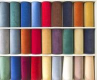 Muestra de alfombras Imágenes de archivo libres de regalías