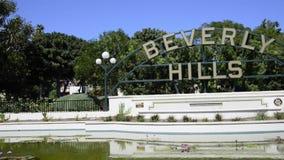 Muestra de Beverly Hills almacen de metraje de vídeo