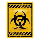 Muestra de Biohazard Fotos de archivo libres de regalías