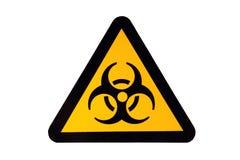 Muestra de Biohazard Foto de archivo libre de regalías
