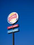 Muestra de Burger King Fotografía de archivo