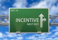 Muestra de camino incentiva