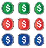 Muestra de dólar Ilustración del Vector