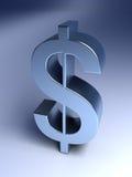 Muestra de dólar Imagen de archivo libre de regalías
