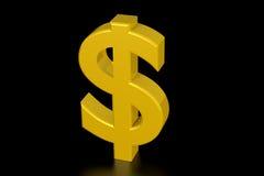 Muestra de dólar Imágenes de archivo libres de regalías