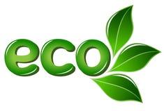 Muestra de Eco con las hojas libre illustration