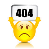 muestra de 404 errores Imagen de archivo