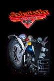 Muestra de Harley Davidson Foto de archivo libre de regalías