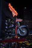 Muestra de Harley Davidson Fotos de archivo libres de regalías