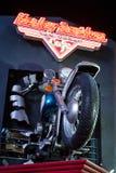 Muestra de Harley Davidson Fotografía de archivo