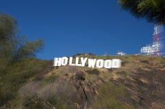 Muestra de Hollywood imagenes de archivo