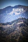 Muestra de Hollywood imagen de archivo libre de regalías
