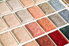 Muestra de la alfombra Foto de archivo libre de regalías