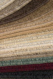 Muestra de la alfombra Foto de archivo