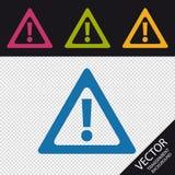 Muestra de la atención - iconos coloridos del ejemplo del vector - aislada en fondo transparente Fotografía de archivo libre de regalías