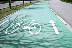 Muestra de la bicicleta Imagenes de archivo