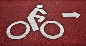 Muestra de la bicicleta Imagen de archivo