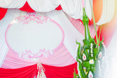 Muestra de la boda Imagenes de archivo