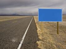 Muestra de la carretera Imagenes de archivo