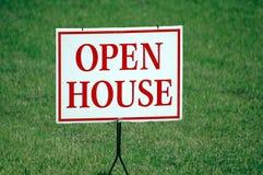 Muestra de la casa abierta Imagen de archivo libre de regalías