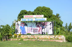 Muestra de la ciudad de Remidios Fotografía de archivo