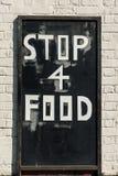 Muestra de la comida de la calle Foto de archivo