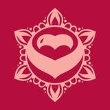 Muestra de la decoración del amor libre illustration