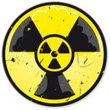 Muestra de la energía atómica de Grunge Fotografía de archivo libre de regalías