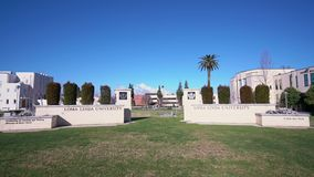 Muestra de la entrada de Loma Linda University metrajes