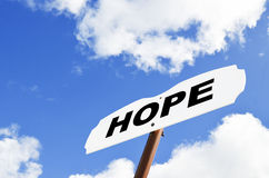 Muestra de la esperanza Imagenes de archivo
