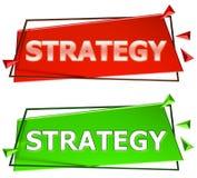 Muestra de la estrategia Foto de archivo libre de regalías