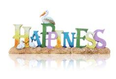 Muestra de la felicidad Imagen de archivo libre de regalías