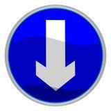 Muestra de la flecha Imagen de archivo libre de regalías