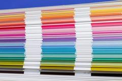 Muestra de la guía del color, primer Foto de archivo libre de regalías