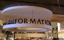 Muestra de la información fotos de archivo