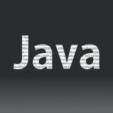 Muestra de la lengua de Java Fotos de archivo