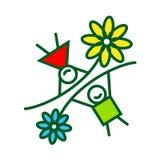 Muestra de la niñez Imágenes de archivo libres de regalías