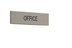 Muestra de la oficina Foto de archivo