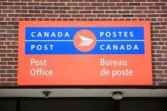 Muestra de la oficina de correos Foto de archivo