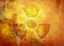 Muestra de la radiación Fotos de archivo